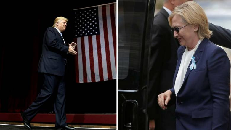Εκλογές ΗΠΑ 2016: Κλίντον και Τραμπ αποκαλύπτουν πληροφορίες για την υγεία τους