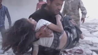 Η τρομερή ιστορία 10χρονης και του σωτήρα της στο Χαλέπι
