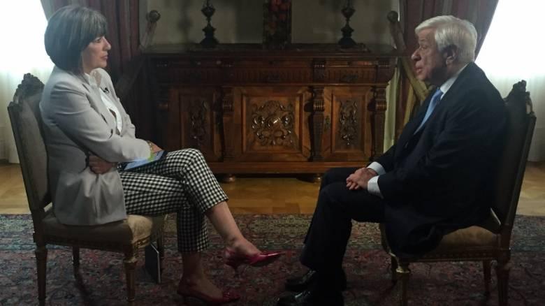 Πρ. Παυλόπουλος στο CNNi: «Η Ελλάδα θέλει χρόνο για να ανασάνει»