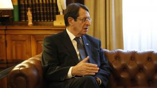 Έγγραφο του Νίκου Αναστασιάδη στον Μπαν Κι Μουν για το Κυπριακό