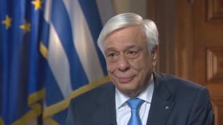Ο Πρ. Παυλόπουλος μιλάει στην Κριστιάν Αμανπούρ