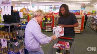 Η Μισέλ Ομπάμα πάει για ψώνια με την Έλεν ντε Τζενέρις
