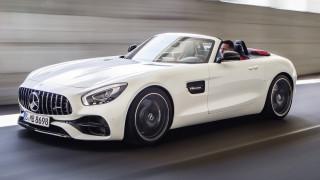 Η super Mercedes AMG GT έγινε και ρόουντσερ