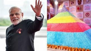 Iνδία: Tούρτα-γίγας για τα γενέθλια του πρωθυπουργού