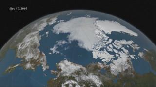 Η Αρκτική στην απόψυξη: Στο δεύτερο χαμηλότερο σημείο οι πάγοι