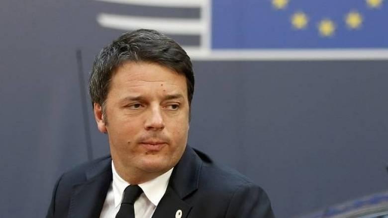 Μ. Ρέντσι: Σε λίγο θα μιλάμε για το φάντασμα της Ευρώπης