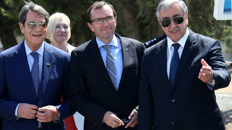 Συνάντηση Αναστασιάδη - Μπαν Κι Μουν με θέμα το Κυπριακό