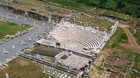 Άνοιξε μετά τις πλημμύρες ο αρχαιολογικός χώρος της Αρχαίας Μεσσήνης