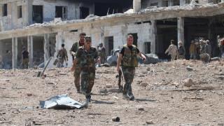 Ο Άσαντ κατηγορεί τις ΗΠΑ για βομβαρδισμούς κατά του συριακού στρατού