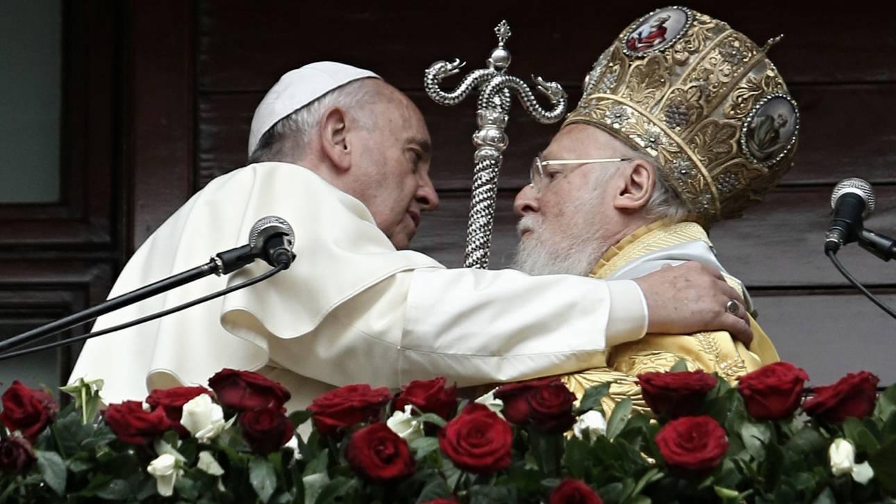 Αποτέλεσμα εικόνας για πατριαρχης και παπασ
