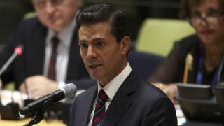 Οι μετακινήσεις των λαών είναι αδύνατον να εμποδιστούν, διαμηνύει ο πρόεδρος του Μεξικού
