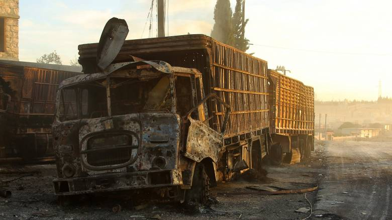 Συρία: Αναστέλλει την ανθρωπιστική βοήθεια ο ΟΗΕ μετά τις επιθέσεις