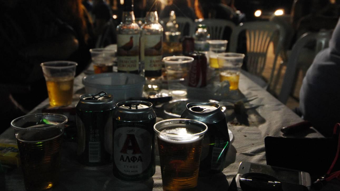 Πρωταθλητές οι Έλληνες έφηβοι στον τζόγο και το αλκοόλ