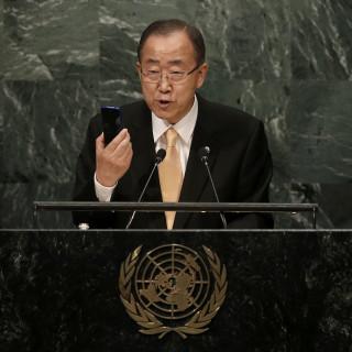 Μπαν Κι Μουν: Έκκληση να τερματιστούν οι μάχες που μαίνονται στη Συρία