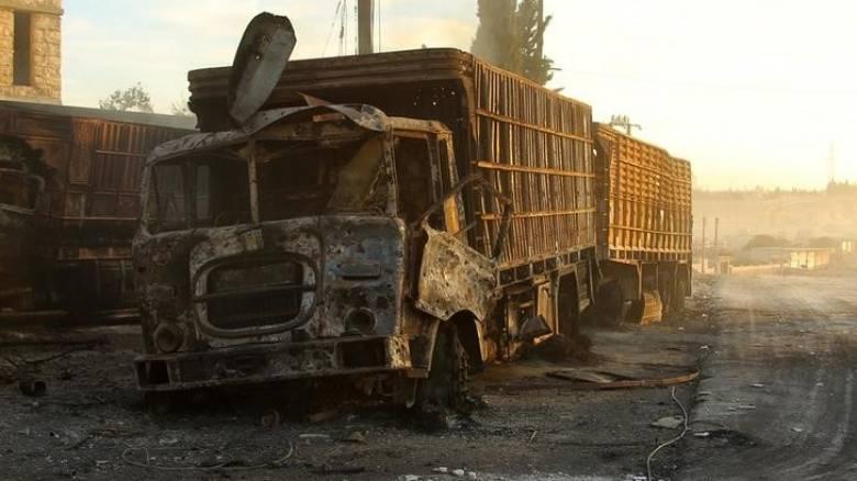 Μόσχα: Η αυτοκινητοπομπή στο Χαλέπι δεν χτυπήθηκε από αεροπορική επιδρομή