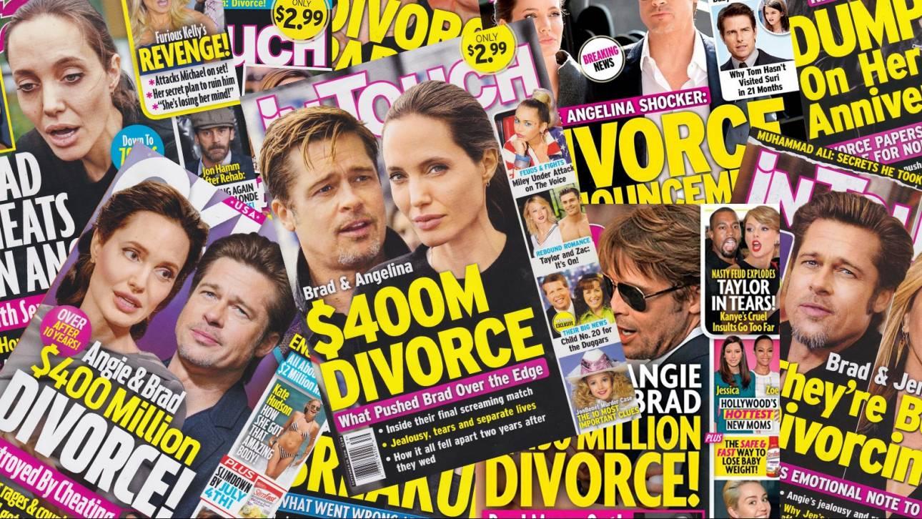Τζολί- Πιτ: Η πρώτη δήλωσή του, οι φήμες, τα $400 εκατ. & η femme fatale Μαριόν Κοτιγιάρ