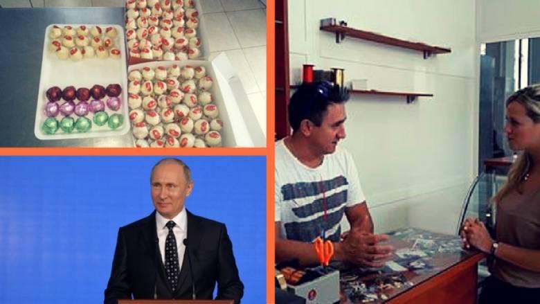 Ο ζαχαροπλάστης από τον Βόλο που γλύκανε τον Πούτιν (vid)