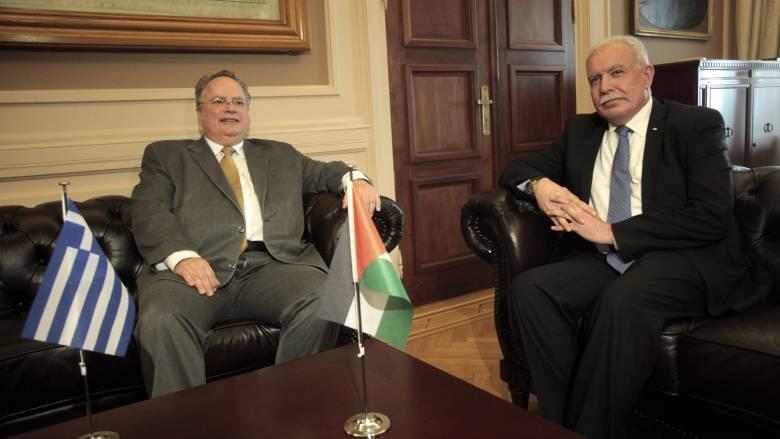 Ιστορική συμφωνία Ελλάδας-Κύπρου-Παλαιστίνης- Το κοινό ανακοινωθέν