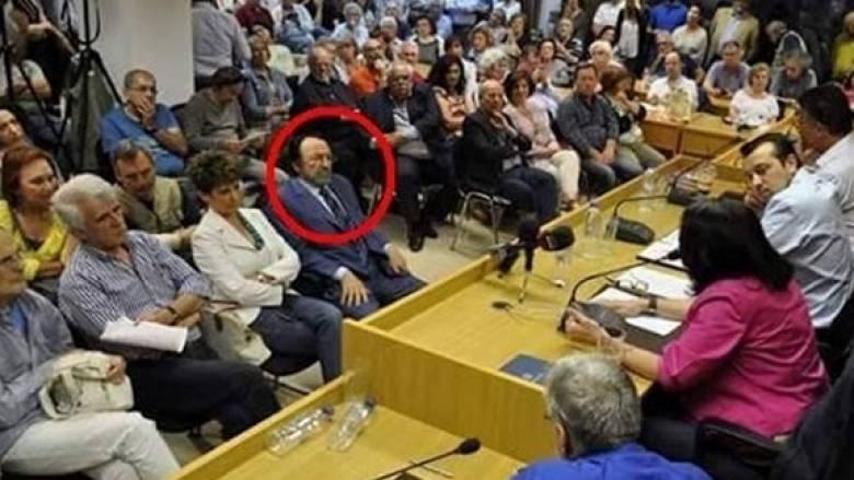 Ο Χρ. Καλογρίτσας στην πρώτη θέση σε εκδήλωση του ΣΥΡΙΖΑ για τη διαφθορά