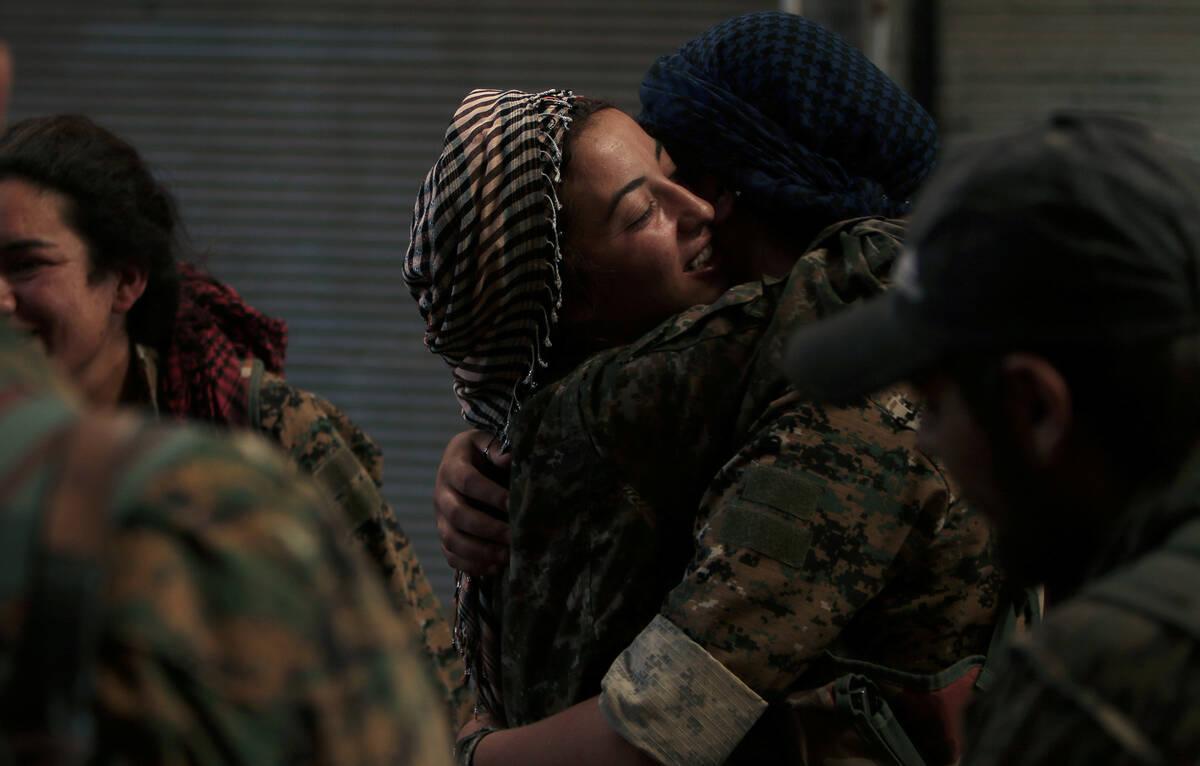 SDF Women 2016 09 08T121007Z 795247336 S1AEUACQAPAA RTRMADP 3 MIDEAST CRISIS SYRIA KURDS