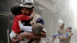 Στις φλόγες συνοικίες του Χαλεπιού, νέες διαπραγματεύσεις στη Νέα Υόρκη