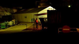Επεισόδια στον προσφυγικό καταυλισμό της Χίου (vids)