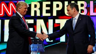 Ο Τεντ Κρουζ δήλωσε ότι στηρίζει τον Ντόναλντ Τραμπ