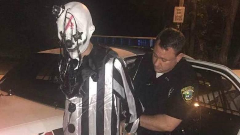 ΗΠΑ: Συνελήφθη 20χρονος που με στολή κλόουν τρομοκρατούσε τον κόσμο