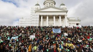 Στους δρόμους οι Φινλανδοί κατά του ρατσισμού