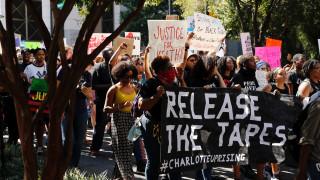 ΗΠΑ: Στη δημοσιότητα θα δώσει η αστυνομία το βίντεο από τη δολοφονία στο Σάρλοτ