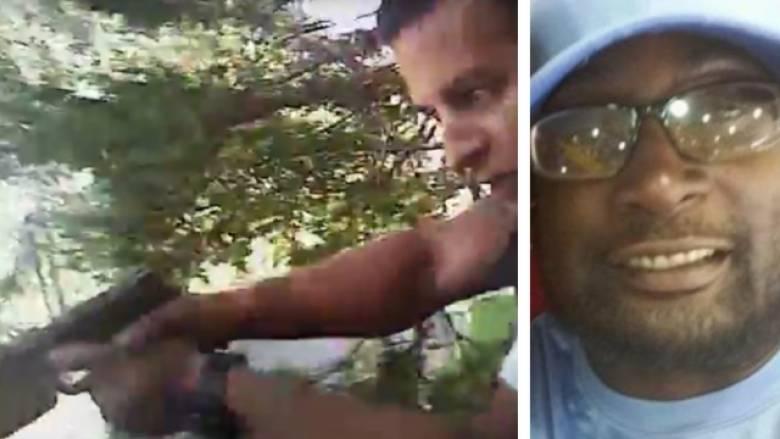 Σκληρές εικόνες-Η στιγμή που ο Αφροαμερικανός πεθαίνει από αστυνομικά πυρά στο Σάρλοτ (vid)