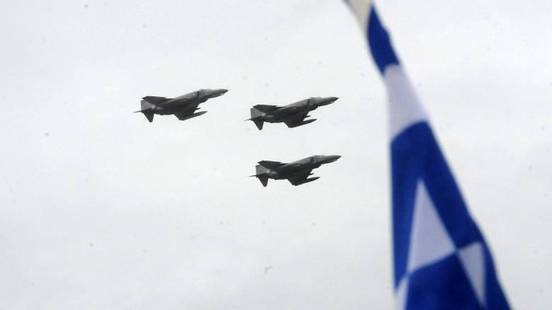 """Κυριακάτικη """"βόλτα"""" τουρκικού πολεμικού αεροσκάφους πάνω από τις Οινούσες"""
