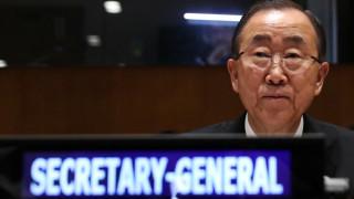 Μπαν Κι Μουν: Να γίνουν περισσότερα για να μπει ένα τέλος στον εφιάλτη στη Συρία