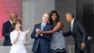 Η μυστική φιλία Τζορτζ Μπους - Μισέλ Ομπάμα