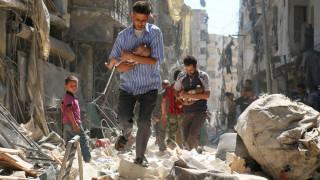 Χαλέπι: 30 γιατροί παλεύουν για 250.000 ανθρώπους