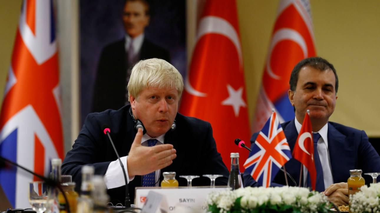 Ο Μπόρις Τζόνσον πάει Τουρκία
