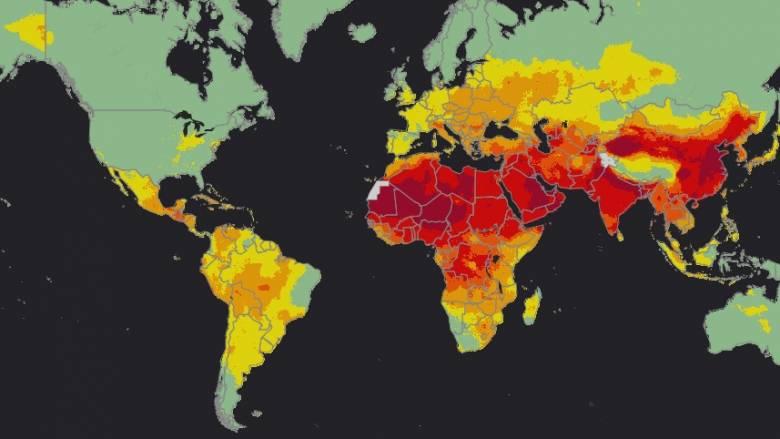 ΠΟΥ: Το 92% του παγκόσμιου πληθυσμού αναπνέει μολυσμένο αέρα