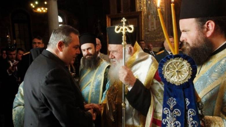 Με τον Αρχιεπίσκοπο Ιερώνυμο θα συναντηθεί ο Π. Καμμένος