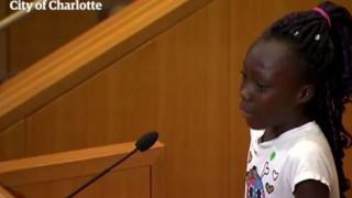 Συγκλονιστική ομιλία 9χρονης από το Σάρλοτ για τις φυλετικές διακρίσεις (vid)