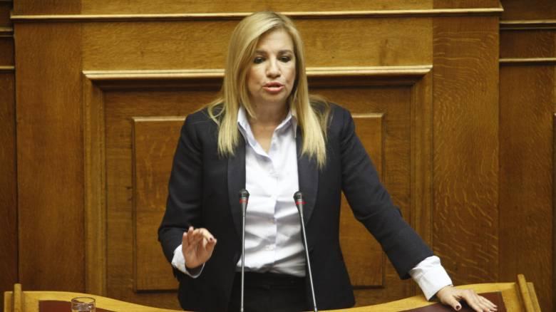 Φ. Γεννηματα: Έπεσε μαύρο στο ΣΥΡΙΖΑ Channel γιατί αποκαλύφθηκαν όλα