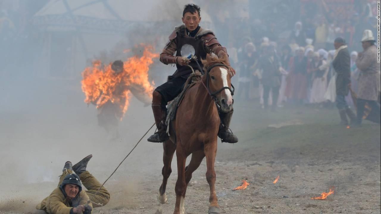 Παγκόσμιοι Νομαδικοί Αγώνες 2016: Οι αθλητικές «παραστάσεις» του Κιργιστάν