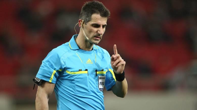 Ο Σιδηρόπουλος διαιτητής στο Καραϊσκάκης για το Ολυμπιακός-ΑΕΚ