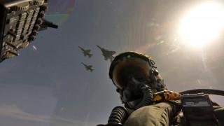 Εντυπωσιακά πλάνα από τα μαχητικά της Πολεμικής Αεροπορίας κατά την άσκηση ΣΑΡΙΣΑ 2016