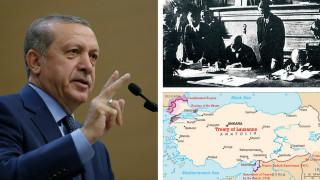 Πού το πάει ο Ερντογάν με τη Συνθήκη της Λωζάνης;