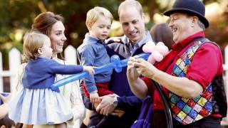 Τρυφερές στιγμές για τα πριγκιπόπουλα της Βρετανίας