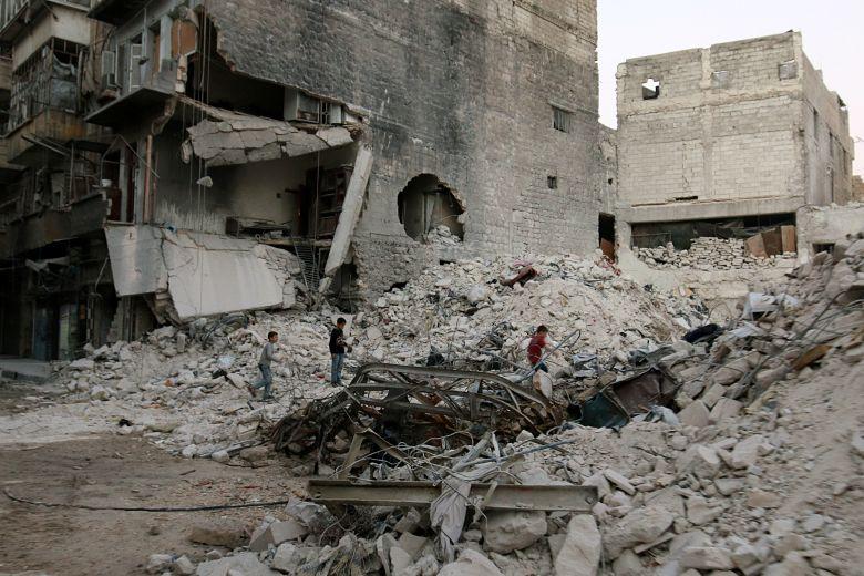 2016 09 29T181529Z 1607122956 S1BEUEDCMJAC RTRMADP 3 MIDEAST CRISIS SYRIA ALEPPO