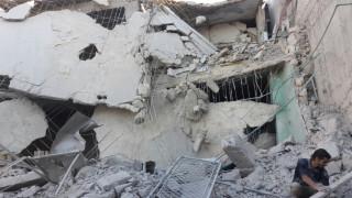 Βομβαρδίστηκε το μεγαλύτερο νοσοκομείο του Χαλεπιού