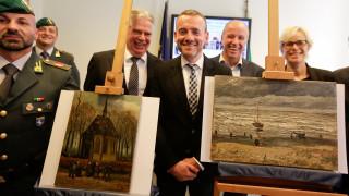 Οι δύο κλεμμένοι Van Gogh επιστρέφουν εκεί όπου ανήκουν