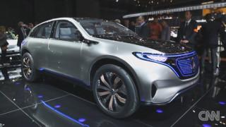 Η Mercedes παρουσιάζει το μέλλον της ηλεκτροκίνησης με ένα φουτουριστικό SUV