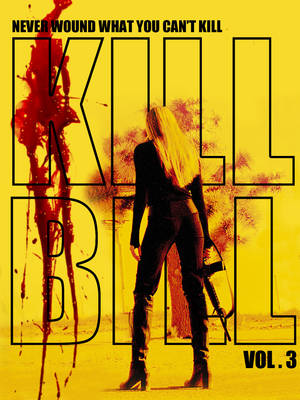 """Kill Bill 3"" του Κουέντιν Ταραντίνο. Για χρόνια ο Κουέντιν Ταραντίνο έλεγε ότι θα γύριζε το Kill Bill. 3, με θέμα την κόρη της νύφης (την Ούμα Θέρμαν που έπαιζε στις δύο προηγούμενες ταινίες ), η οποία είναι έτοιμη να εκδικηθεί τους εχθρούς της μητέρας τ"